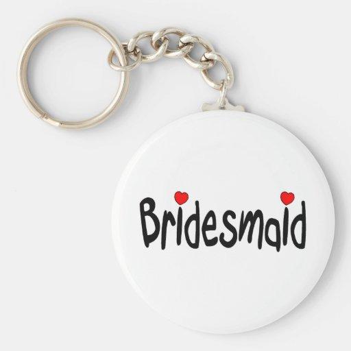 Bridesmaid Key Chain