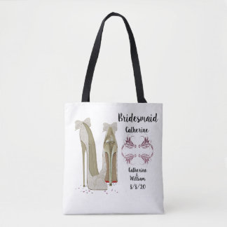 Bridesmaid Memento Gift Tote Bag