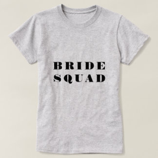 Bridesmaid Party Squad T-Shirt