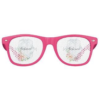 Bridesmaid Periwinkle Vignette Retro Sunglasses