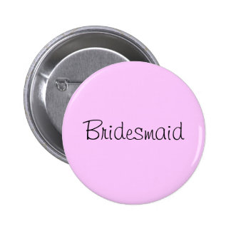 """Bridesmaid"" pin"