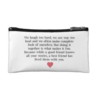 Bridesmaid Quote Clutch Bag