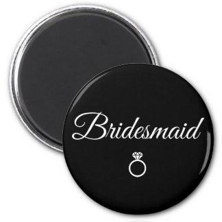 Bridesmaid ring magnet