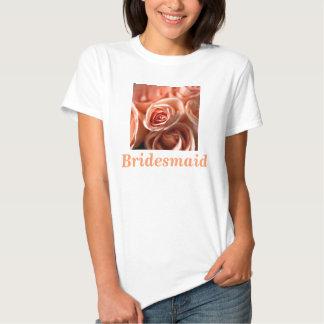 Bridesmaid Roses Shirt