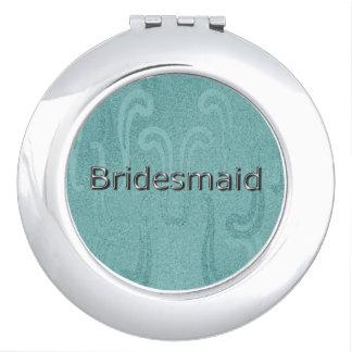 Bridesmaid-Silver-Aqua-Meso-Artifact's-Gift's Vanity Mirror