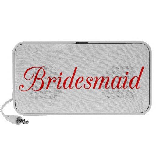 Bridesmaid Speakers
