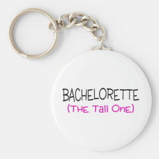 Bridesmaid The Tall One Basic Round Button Keychain