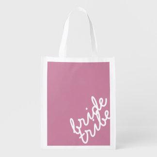 Bridesmaid Tote Grocery Bag