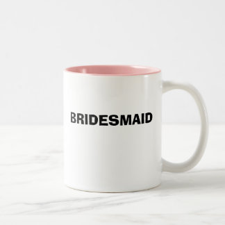 BRIDESMAID Two-Tone COFFEE MUG