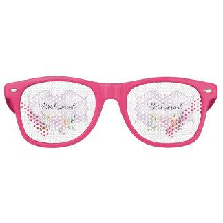 Bridesmaid Violet Vignette Retro Sunglasses