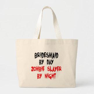 Bridesmaid Zombie Slayer Jumbo Tote Bag