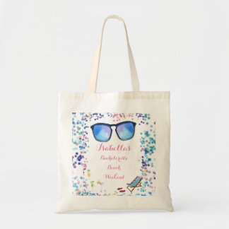 Bridesmaids Bachelorette Beach Destination Tote Bag
