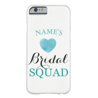 Bridesmaids iPhone Case Ring Bride Squad heart