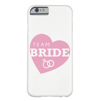 Bridesmaids iPhone Case Ring Team Bride heart