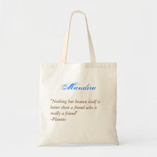 Bridesmaids tote- Quote 2 Tote Bag