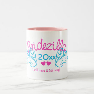 Bridezilla ANY year custom mug - choose style &