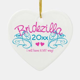 Bridezilla ANY year custom ornament