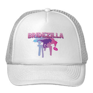 bridezilla bachelorette wedding bridal shower trucker hat