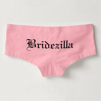 Bridezilla Boy Cut Panties