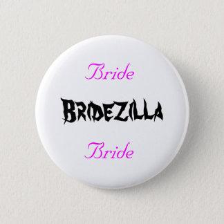 Bridezilla Bride 2 Inch Round Button