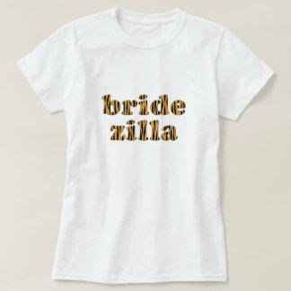 Bridezilla   Fun Tigerprint T-Shirt