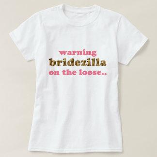 Bridezilla on the loose   Fun Tigerprint T-Shirt