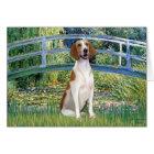 Bridge - American Foxhound Card