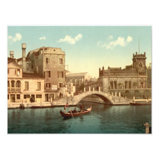 Bridge and Canal, Venice Photo