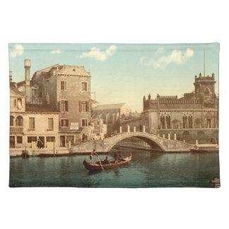 Bridge and Canal, Venice Place Mat