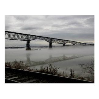 Bridge and Tracks Postcard