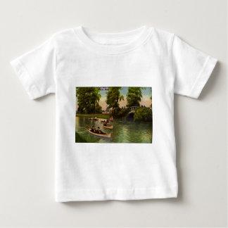 Bridge at Belle Isle, Detroit, Michigan Vintage Baby T-Shirt