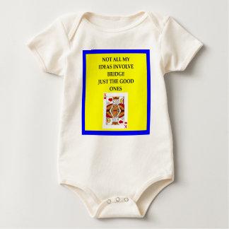 BRIDGE BABY BODYSUIT