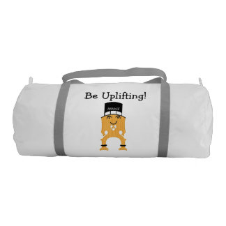 BRIDGE -- Be Uplifting! Gym Duffle Bag