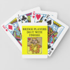 bridge bicycle playing cards