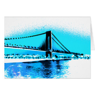 Bridge Blues card
