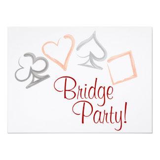 Bridge Card Party Invitation