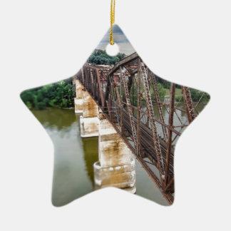 Bridge Ceramic Star Ornament