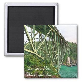 bridge, Deception Pass, Washington state Magnet