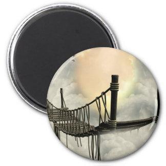 Bridge enchanted 2 inch round magnet