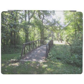 Bridge in a Park iPad Cover