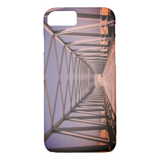 Bridge in Abu Dhabi [Evening remix]: Vintage Photo iPhone 8/7 Case