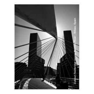 Bridge in Bilbao Postcard