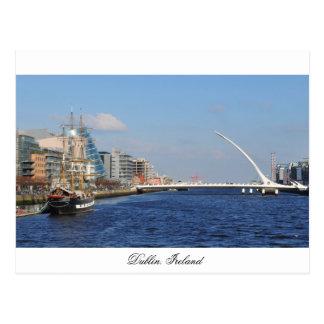 Bridge in Dublin Postcard