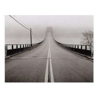 Bridge in Fog Postcard