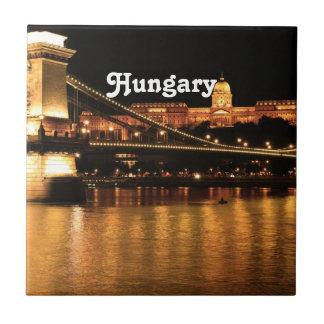 Bridge in Hungary Tile