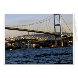 Bridge in Istanbul Card