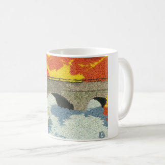 Bridge in South Natick Coffee Mug