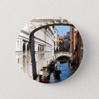 Bridge in Venice, Italy 2 Inch Round Button