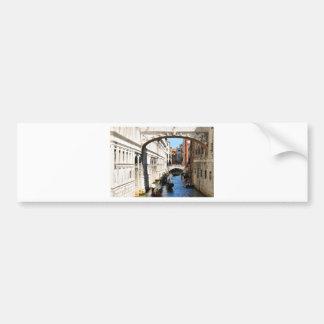Bridge in Venice, Italy Bumper Sticker