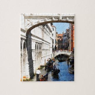 Bridge in Venice, Italy Jigsaw Puzzle